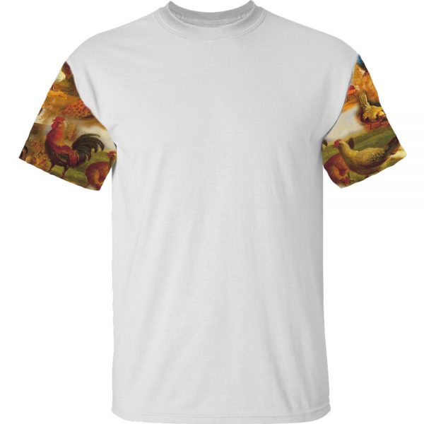 T-shirt Chicken sleeves