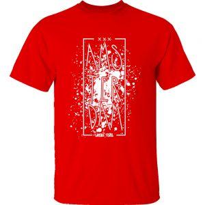 T-shirt Amsterdam splatter