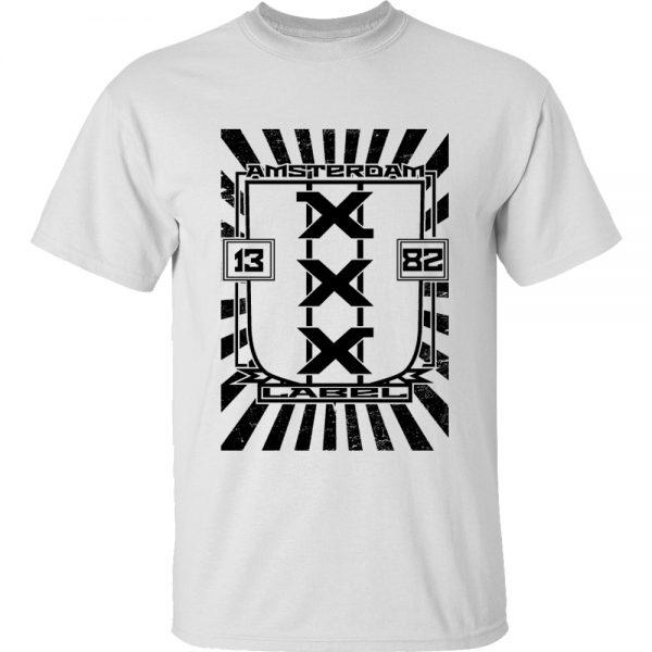 T-shirt Amsterdam sheild
